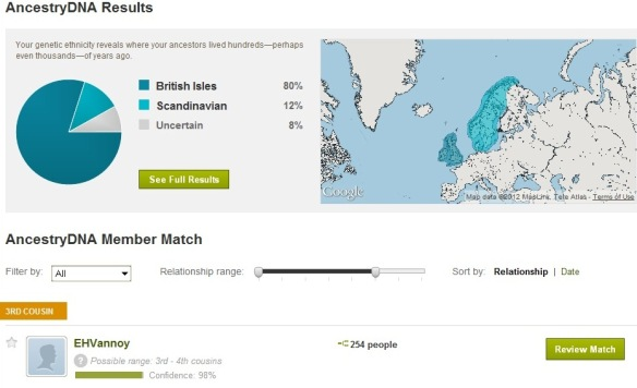 Ancestry Autosomal Results Are Back Dnaexplained