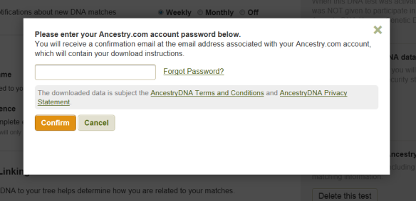 Downloading Ancestry's Autosomal DNA Raw Data File | DNAeXplained – Genetic Genealogy