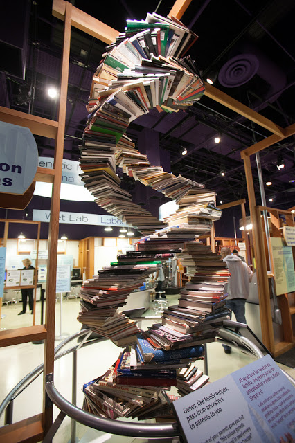 DNA Books Helix