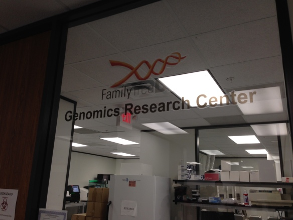 ftdna genomics research center