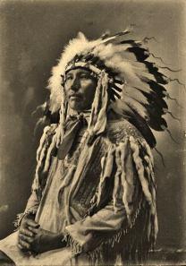 Sicangu man c 1900