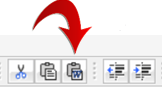 GAP Word Toolbar closeup