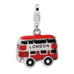 red bus charm