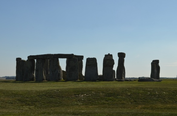 Stonehenge with barrow