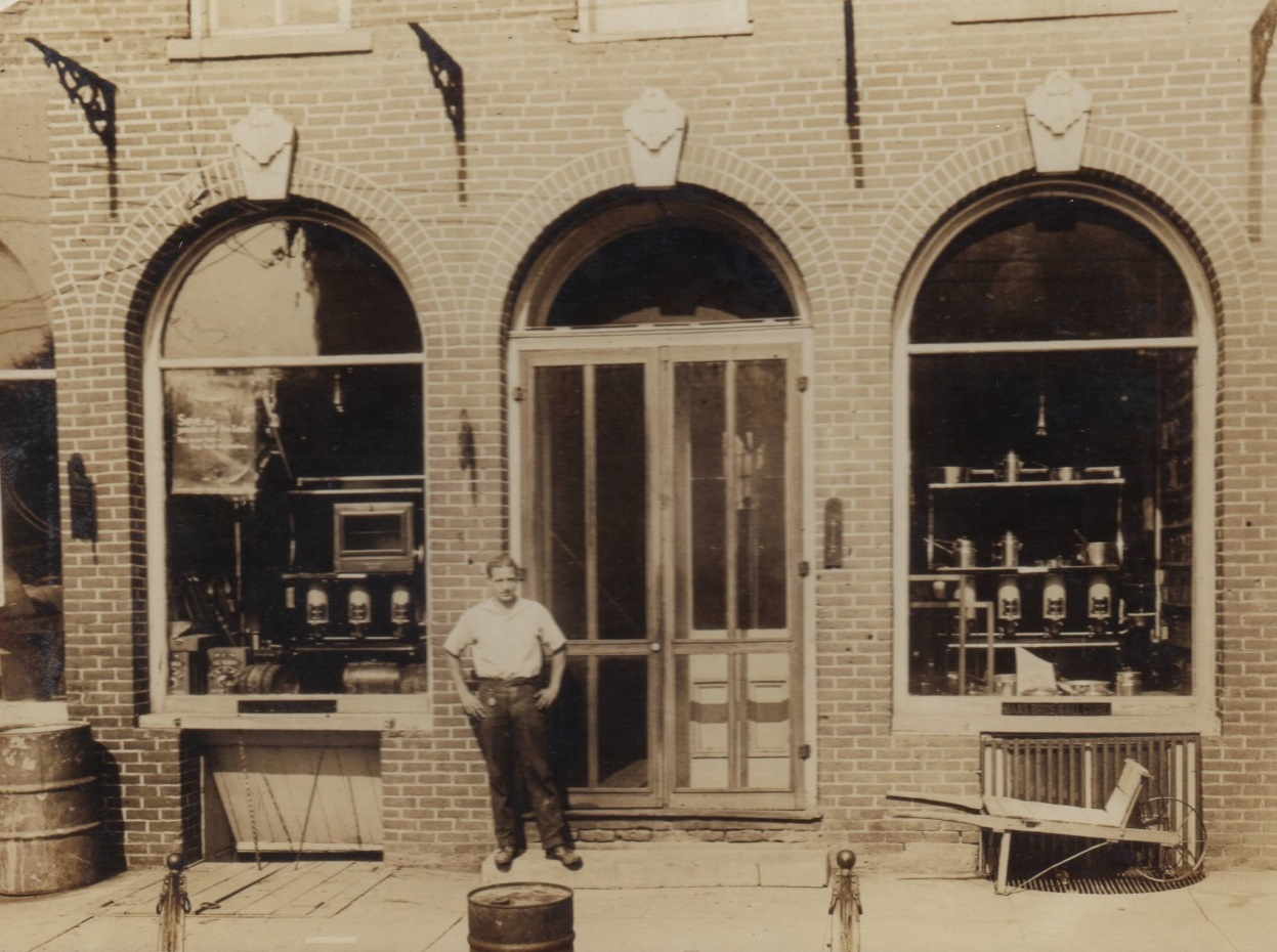 Indiana rush county - Ferverda And Hardware Store Cropped