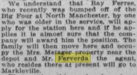 Ferverda news 1913