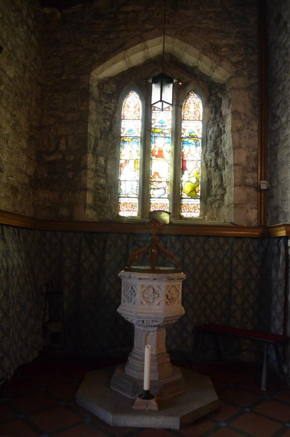St Mary Gisburn baptismal