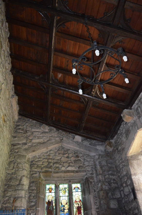 St Mary Gisburn ceiling