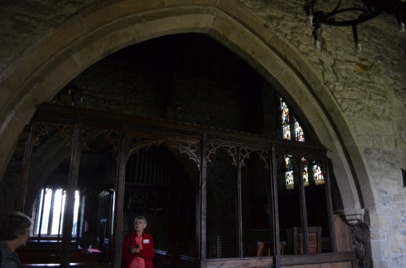 St Mary Gisburn rood screen