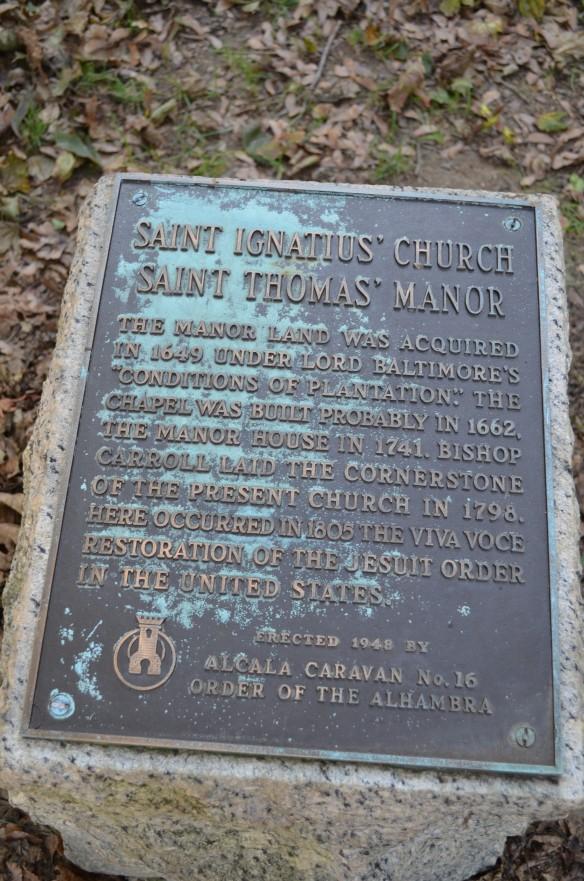 St Ignatius cornerstone