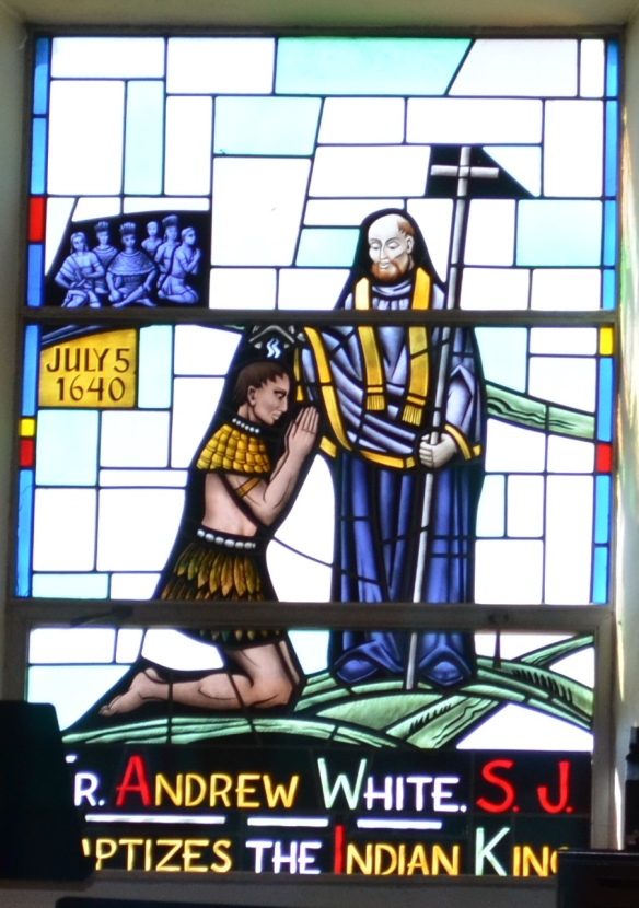 St Ignatius window cropped