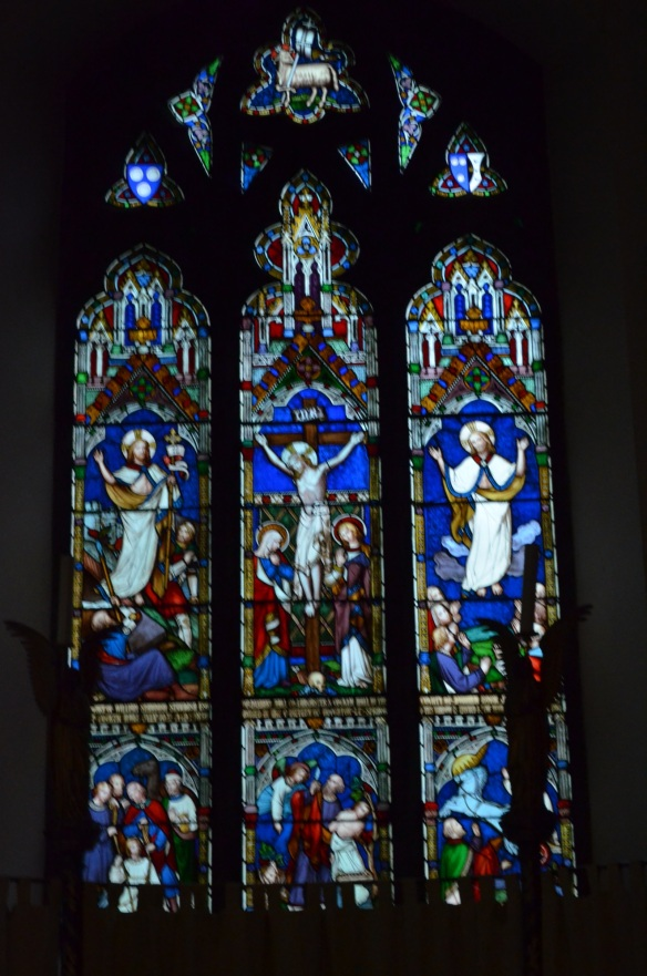 St Laurence windows