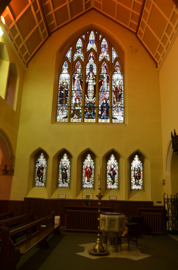 St Mary Martyr Windows