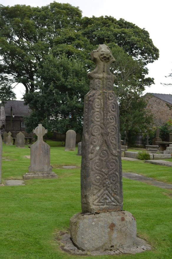 St Mary Whalley Saxon cross