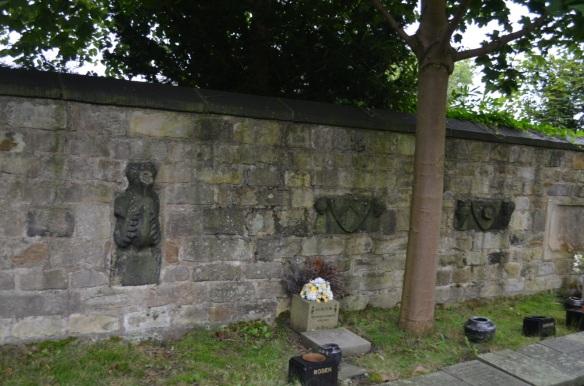 St Wilfrid walls