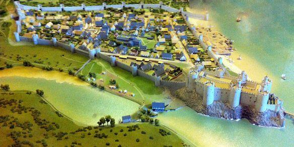 Conwy Castle mockup