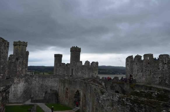 Conwy skyline