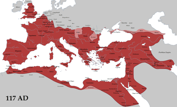Roman Empire 117AD