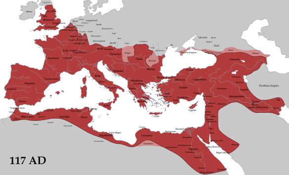 Roman Empire 117AD