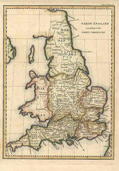 Saxon map