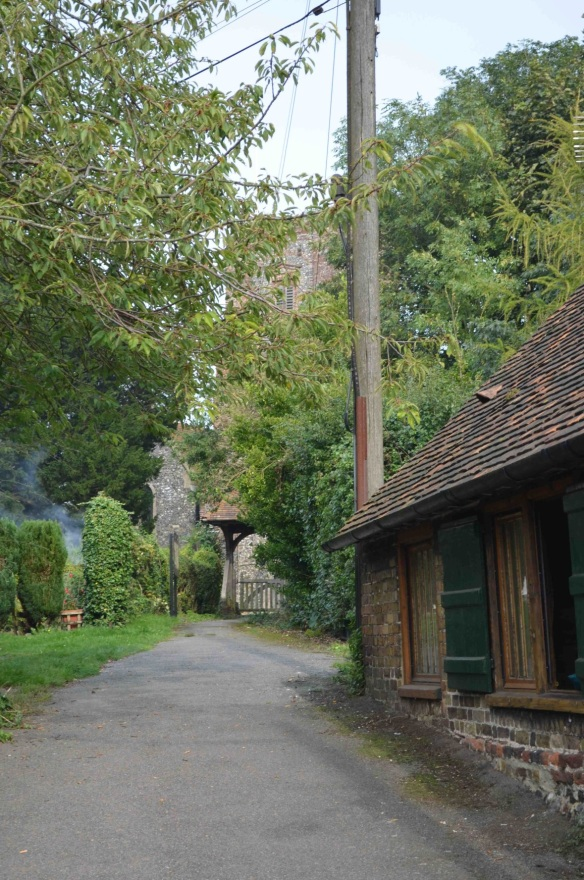St Nicholas Ringwould path