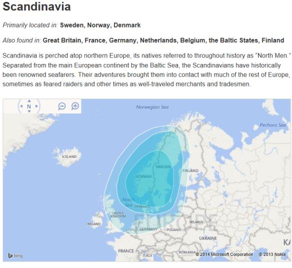 ancestry scandinavia