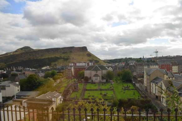 Edinburgh volcano