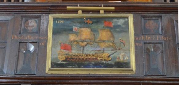 st leonard 1703 painting