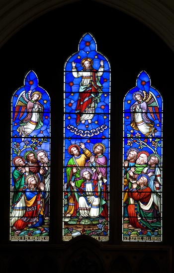 st leonard ascension window