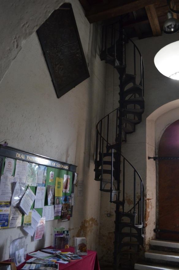 st leonard bellringer stairs