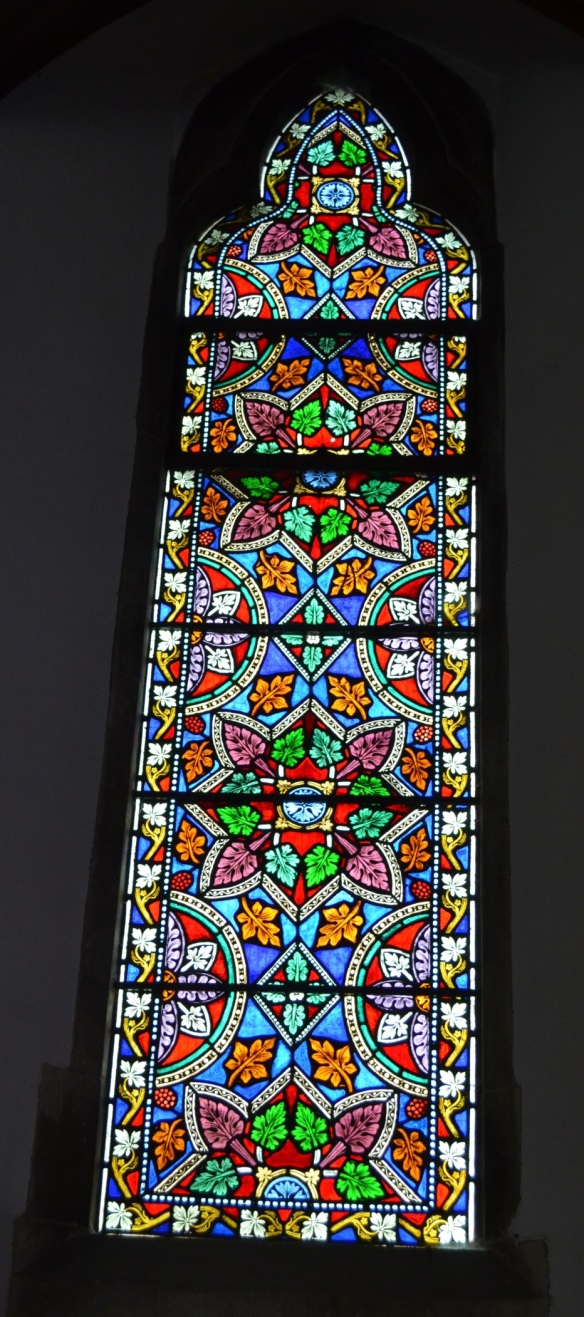 st leonard nave window