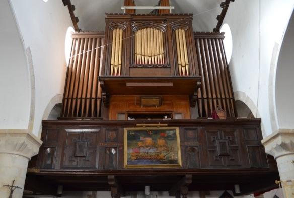 st leonard organ