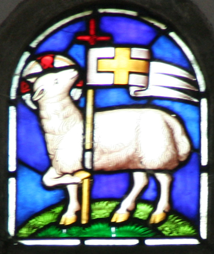 st leonard sheep window2