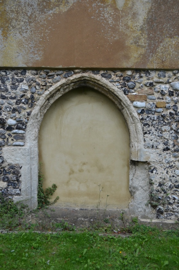 st leonard south door