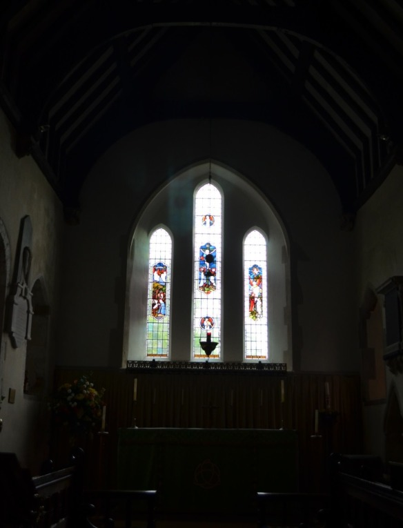 st nicholas ringwould nave windows crop