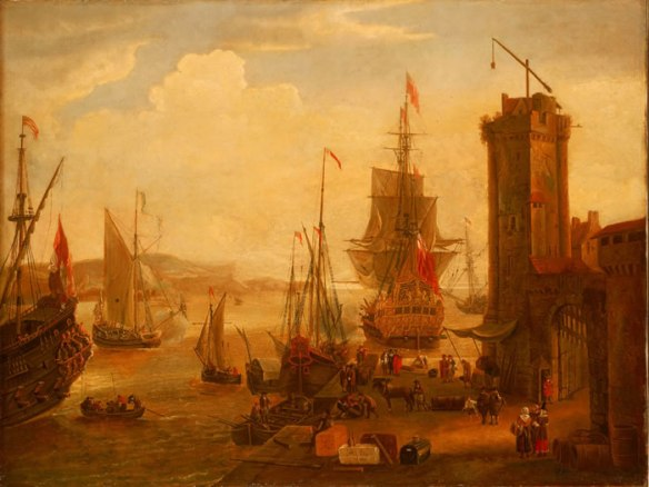 bristol port dock scene