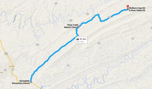 claiborne map