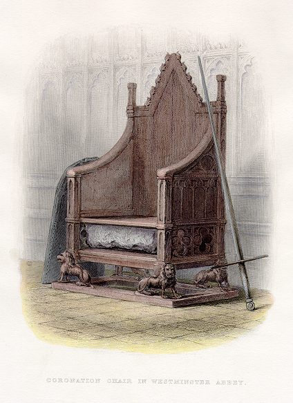 coronation chair 1855