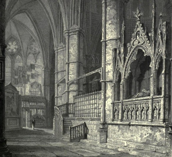 edward tomb westminster drawing