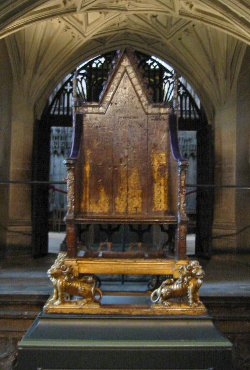 edward's coronation chair