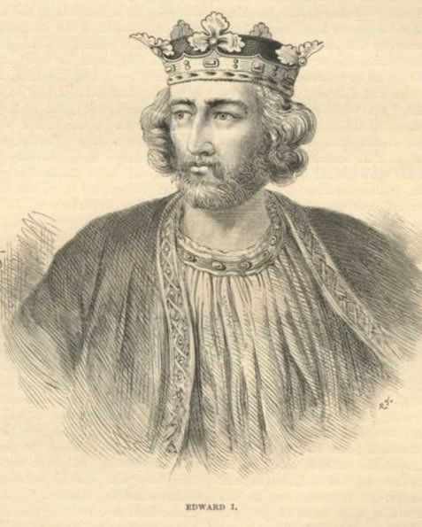 king edward i drawing
