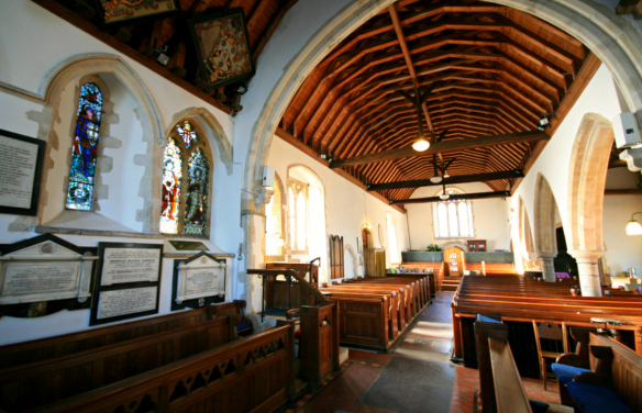 nonington church interior
