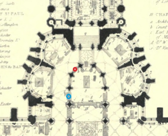 westminster abbey map