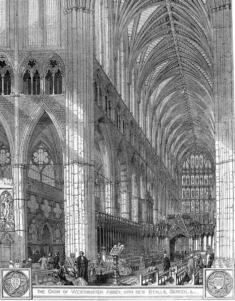 westminster choir 1858