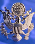 U.S. Army Officer Cap Badge
