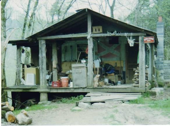 mary parkey cabin closeup