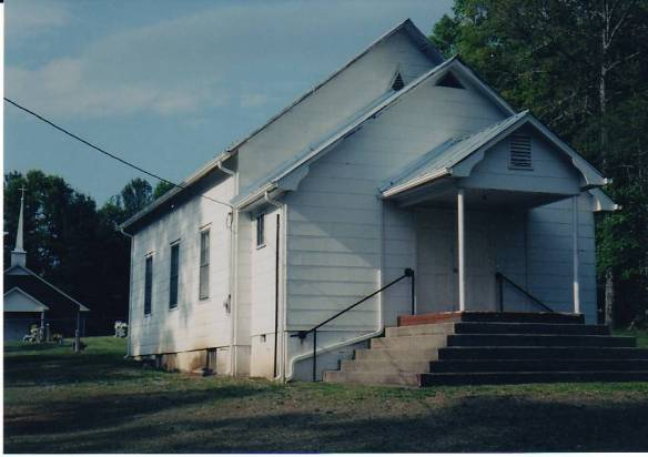 harrold mountain church