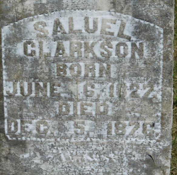 clarkson cemetery samuel
