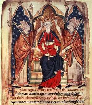 Henry III coronation