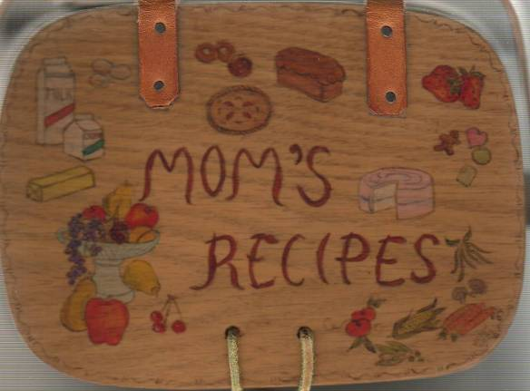 Mom's recipe box